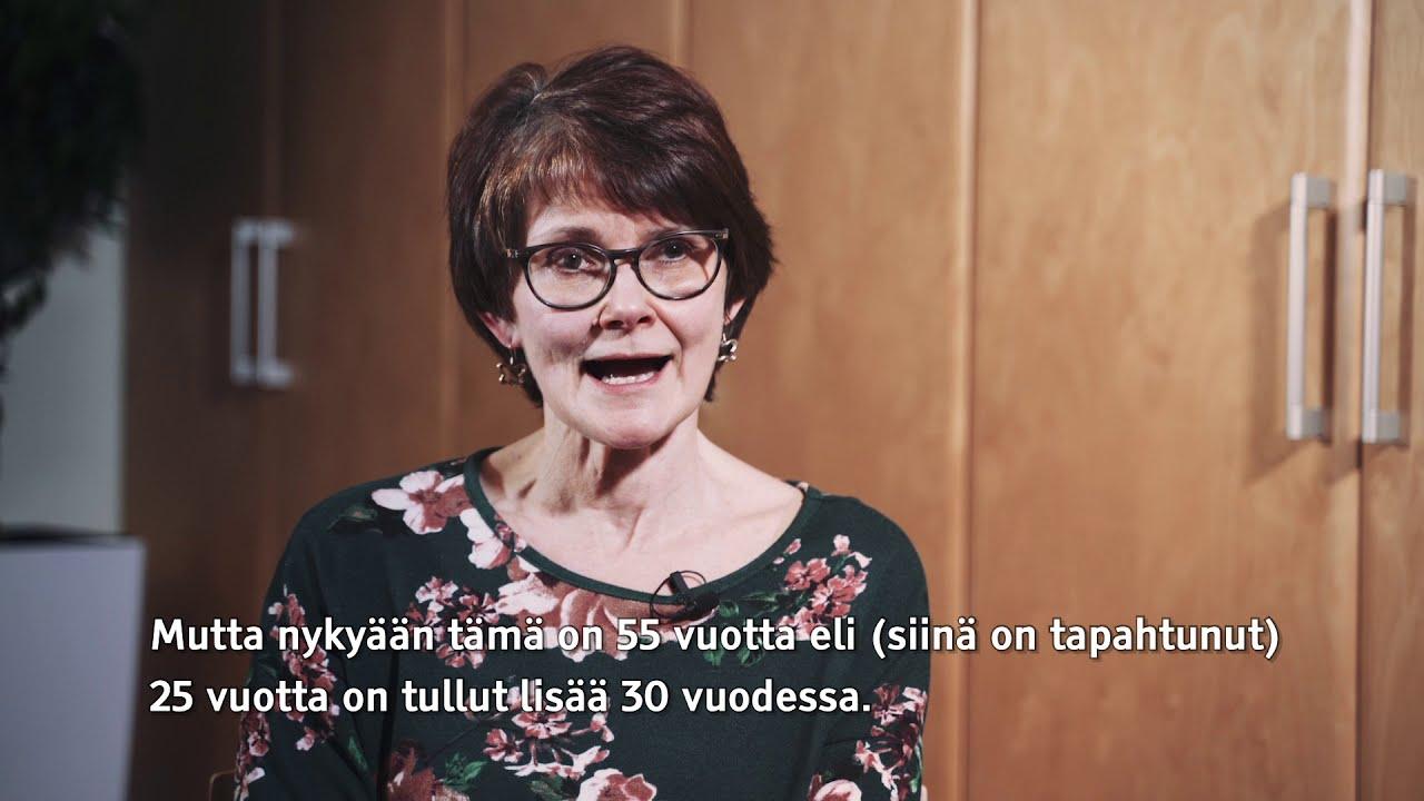PsL Oili Sauna-aho: Kehitysvammaiset elävät pidempään kuin ennen