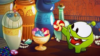 Ancient Egypt | Om Nom Stories | Funny Cartoons For Kids | Cut The Rope