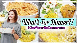 WHAT'S FOR DINNER | BEST CASSEROLE DISHES | EASY & BUDGET FRIENDLY FAMILY MEAL IDEAS