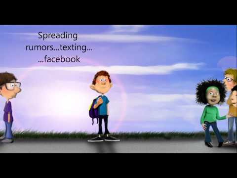 Screenshot of video: Anti-Bullying Awareness - Indirect, Cyber Bullying, Alienated - Lesson - School