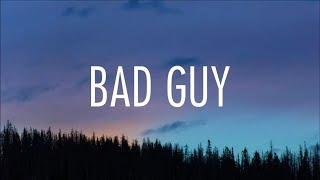 Billie Eilish   Bad Guy (lyrics)
