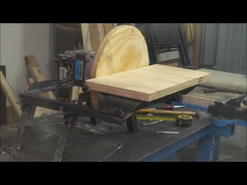 🔨 Levigatrice a disco in ferro fai da te ( DIY steel disc sander )
