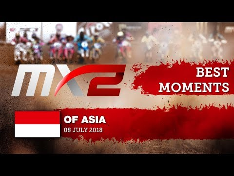 MX2 Best Moments - MXGP of Asia 2018 #motocross