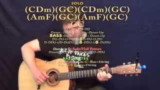 Book of Love (Gavin James) Guitar Lesson Chord Chart