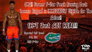 Breaking: 5-Star RB Lingard Ruled ELIGIBLE For Gators!!!!
