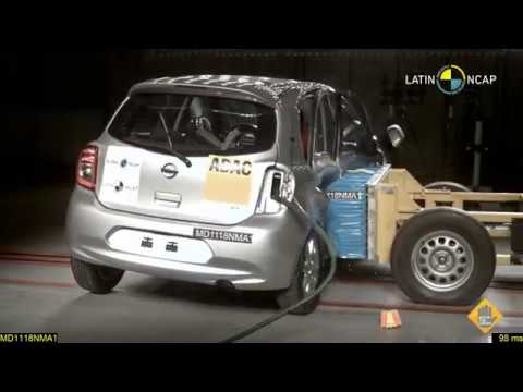 LatinNCAP Nissan March