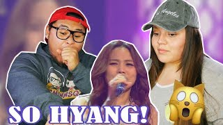 SO HYANG - BRIDGE OVER TROUBLED WATER | COUPLES REACTION 2018