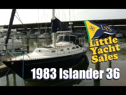 1983 Islander 36 Sailboat for sale at Little Yacht Sales, Kemah Texas
