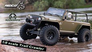 Redcat TC8 Marksman RC Crawler - 1:8 Brushed Electric Trail Crawler