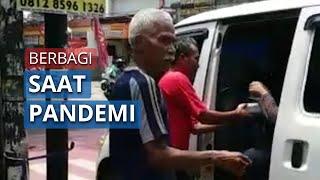 Berbagi saat Pandemi untuk Driver Ojol, Sopir Angkot hingga Gelandangan: Berawal dari Grup WA