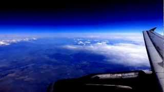 Philadelphia-to-Seattle flight: takeoff 9L, Niagara Falls, Oakville ON, Escanaba MI 2012-05-24