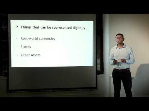 Yra bitcoin prekiaujama akcijų rinkoje