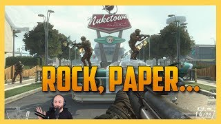 Rock, Paper, Scissors, BOOM.