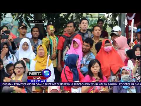 Obor Asian Game s0218 Disambut Meriah di Banjarmasin - NET 5