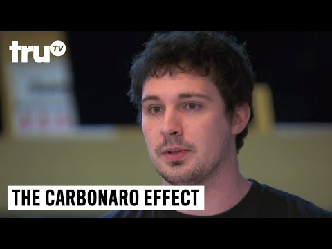 Guy starts to realize hes being tricked in the middle of filming 'The Carbonaro Effect'