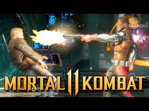 """Jax Does His New Brutality On Terminator! - Mortal Kombat 11: """"Jax"""" Gameplay"""