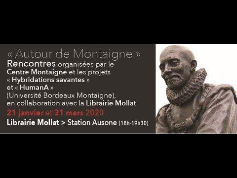 """Anne-Marie Cocula et Violaine Giacomotto, """"Une soirée, un essai"""" : De l'amitié"""
