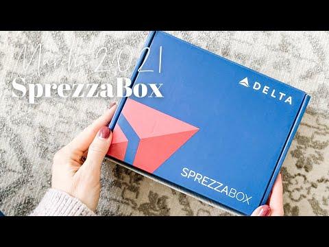 SprezzaBox Unboxing March 2021