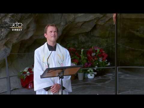 Chapelet du 9 juillet 2020 à Lourdes