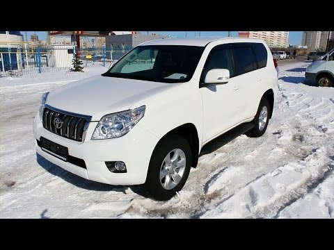 2011 Toyota Land Cruiser Prado 150. Start Up, Engine, and In Depth Tour.