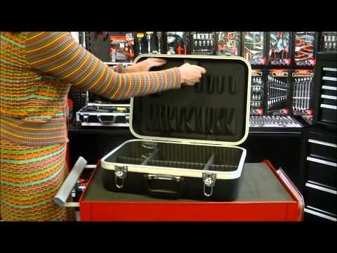 Erro ABS aluminium gereedschapskoffer, type EC1601