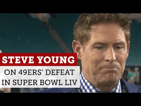 Steve Young reacts to 49ers' loss to Chiefs in Super Bowl 54   NBC Sports Bay Area