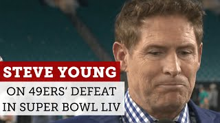 Steve Young reacts to 49ers' loss to Chiefs in Super Bowl 54 | NBC Sports Bay Area