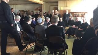 Singing at Amish funeral lancaster