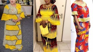 40+ Fascinating African Fashion Ankara Styles,  Asoebi Styles,  2020 Ankara Styles For Ladies