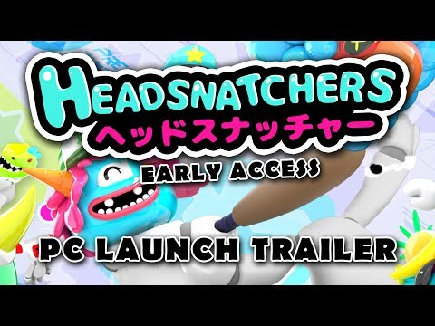 Headsnatchers - Early Access PC Launch Trailer thumbnail