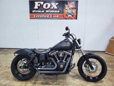 2014 Harley-Davidson Dyna® Street Bob® in Sandusky, Ohio - Video 1