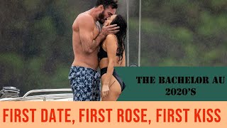 EXCLUSIVE VIDEO Check out the Bachelor 2020 Locky Gilbert's First Date, First Rose and First Kiss