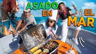 WE COOK IN THE MIDDLE OF THE OCEAN FOR THE FIRST TIME | POLYNESIANS VLOGS