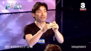 Keiichi Iwasaki   Italia's Got Talent 2016   Magia