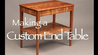 End Table Building Process Doucette And Wolfe Furniture Maker