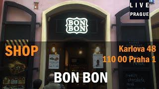 Shop in Prague - Bon Bon Karlova 48 Praha 1 - Chocolate   Chocolaterie -  Sweet Chocolate