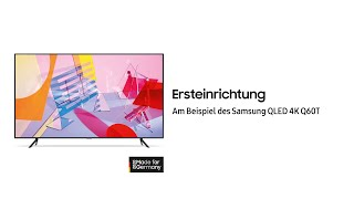 Samsung QLED TV 2020: Ersteinrichtung