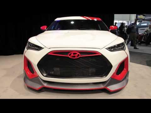 Hyundai Velocity Veloster Concept - 2012 Sema Show