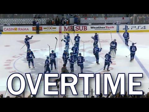 (Full Overtime) Winnipeg Jets vs Toronto Maple Leafs - 2/21/2017