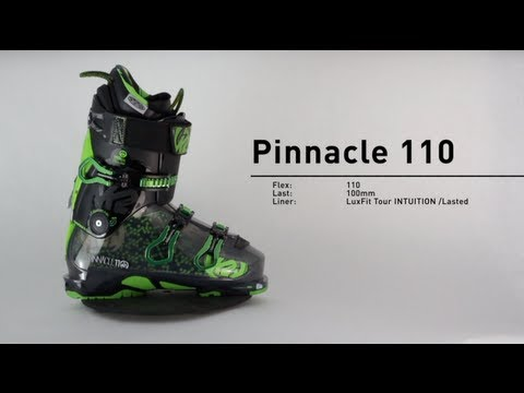 NEW 2014 K2 Pinnacle 110 Freeride Ski Boot