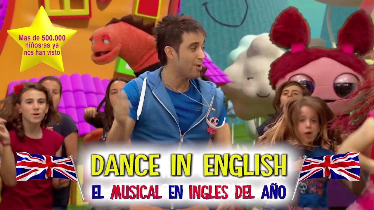 Dance in  English: Espectáculo bilingue para colegios ♪♪