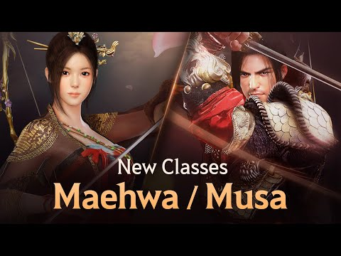 Black Desert Mobile Releases Two Classes - Musa and Maehwa