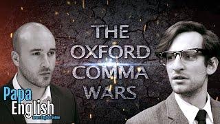The Oxford Comma wars are over!