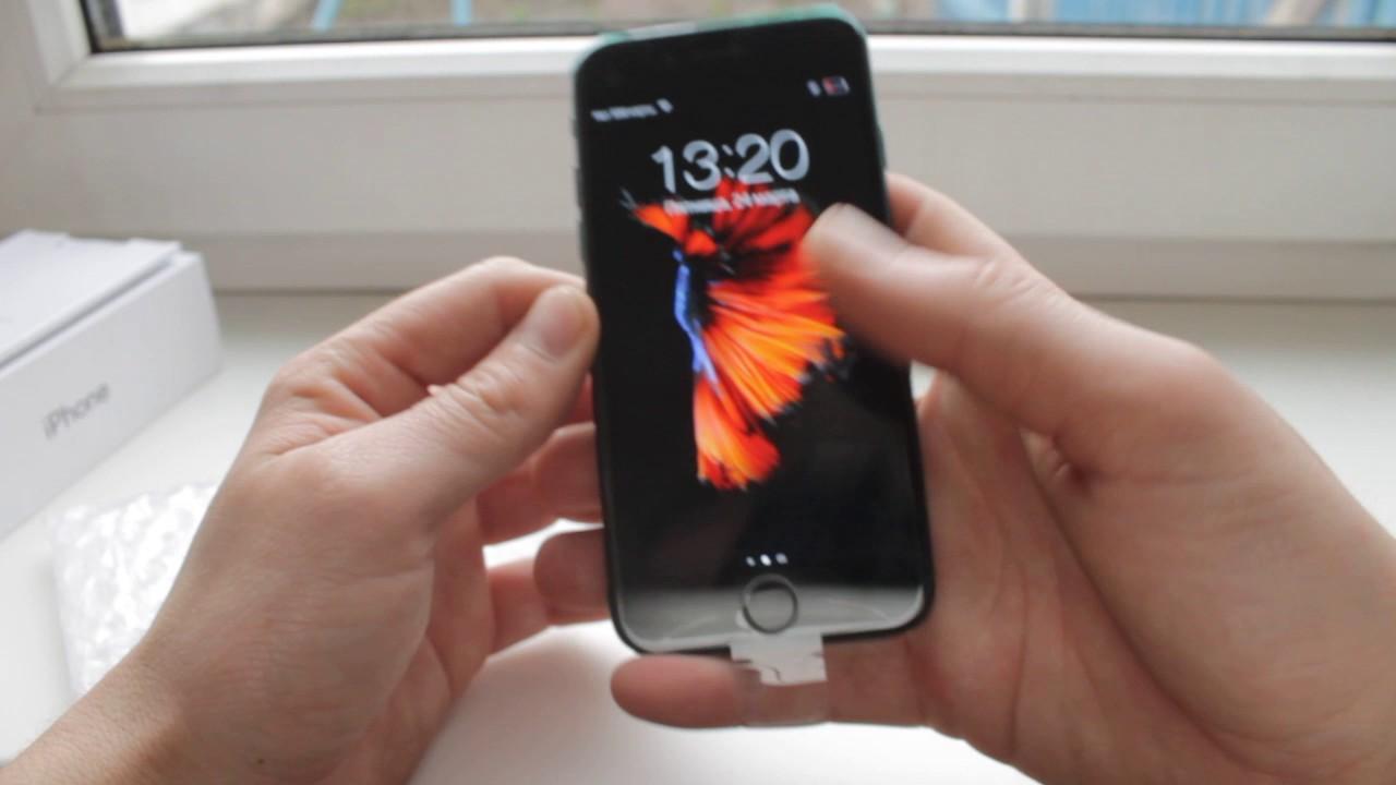Видео Копия iPhone 7