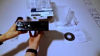 Unboxing autoradio sintolettore CD ALPINE CDE-193BT