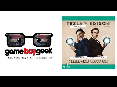 The Game Boy Geek Reviews Tesla Vs Edison Duel
