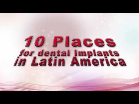 Get your Dental Implants in Latin America!