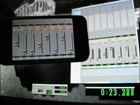 ProRemote Pro Tools Controller May Be Coolest iPhone App Ever (UPDATED)
