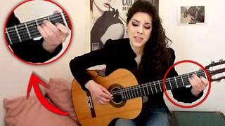 ¡¡INCREÍBLE como TOCA!! Te SORPRENDERÁ ver a esta CHICA tocando GUITARRA!! NovaPatra Parody