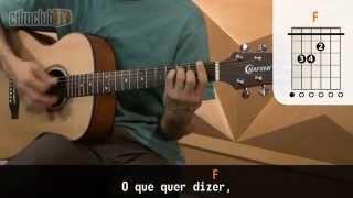 Lenha - Zeca Baleiro (aula de violão)